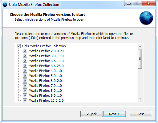 Mozilla Firefox Collection 1.0.9.0