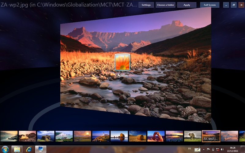 Windows 7 Logon Background Changer 1.3.4